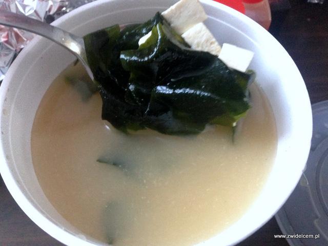 NKraków - Nine Kitchen - zupa miso z tofu