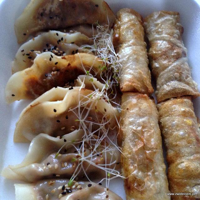 NKraków - Nine Kitchen - dim sum - gyoza - sajgonki