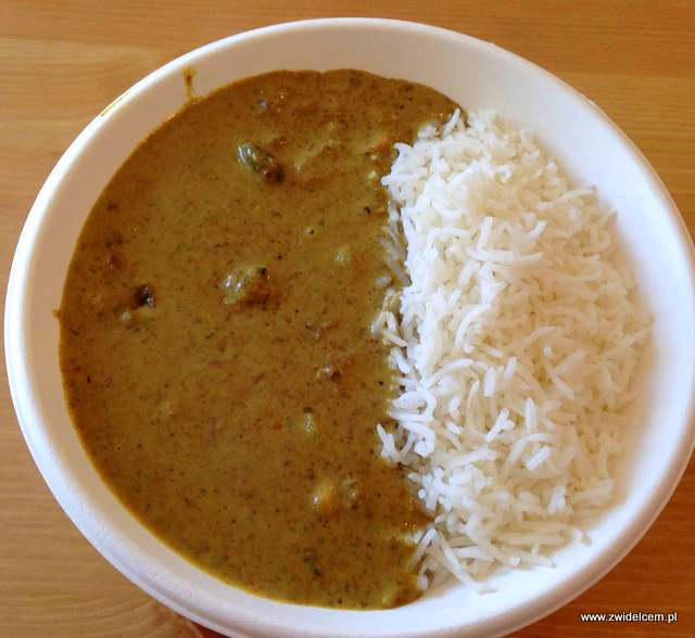 Kraków - Curry up - Massaman curry z wołowiną