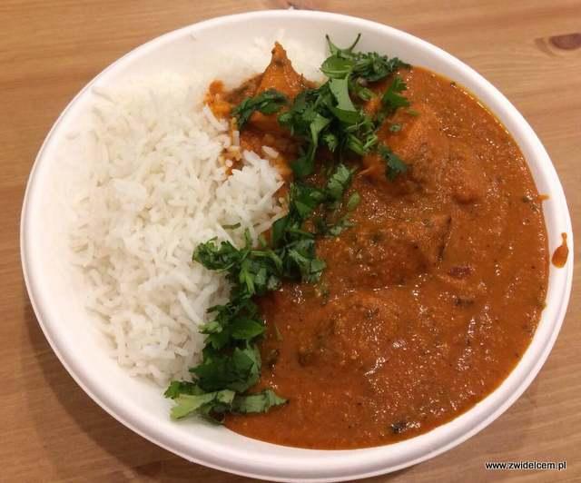 Kraków - Curry up - Butter chicken