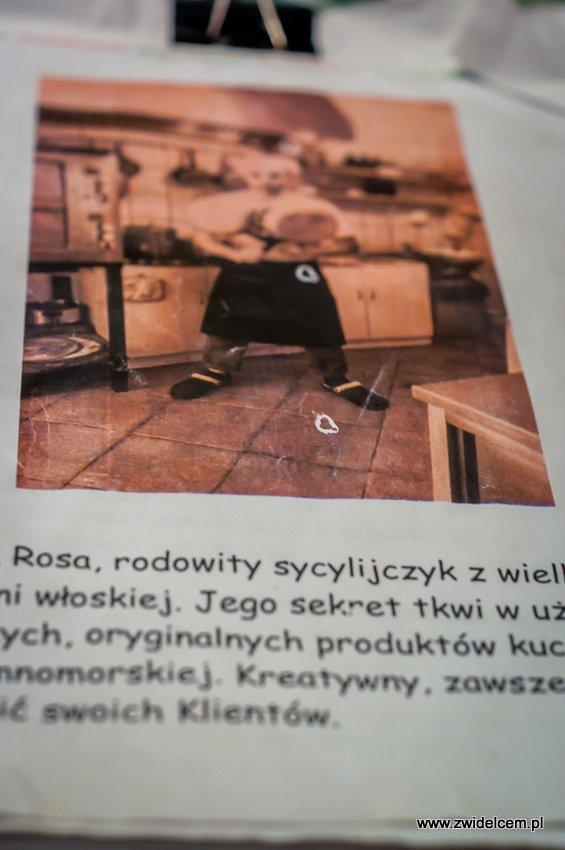 Kraków – Al Vecchio Forno – menu