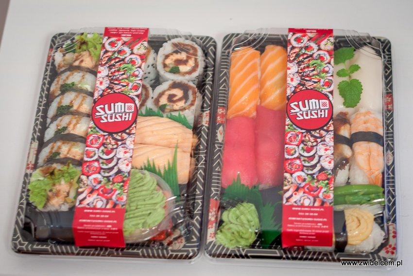 Kraków - Sumo Sushi - zestawy zapakowane
