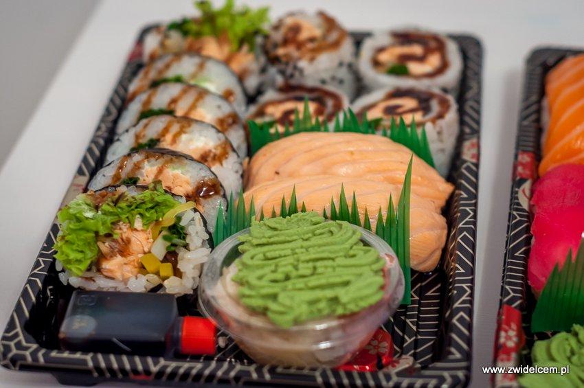 Kraków - Sumo Sushi - zestaw Hokkaido