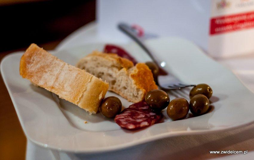 Promocja Cagliari - Kraków - Bonerowska - oliwki z Parteolli - kiełbasa z Campidano