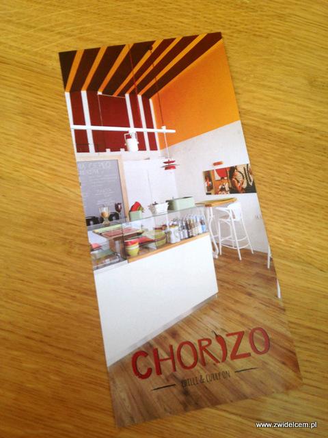 Kraków - Chorizo - ulotka