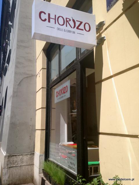 Kraków - Chorizo - szyld