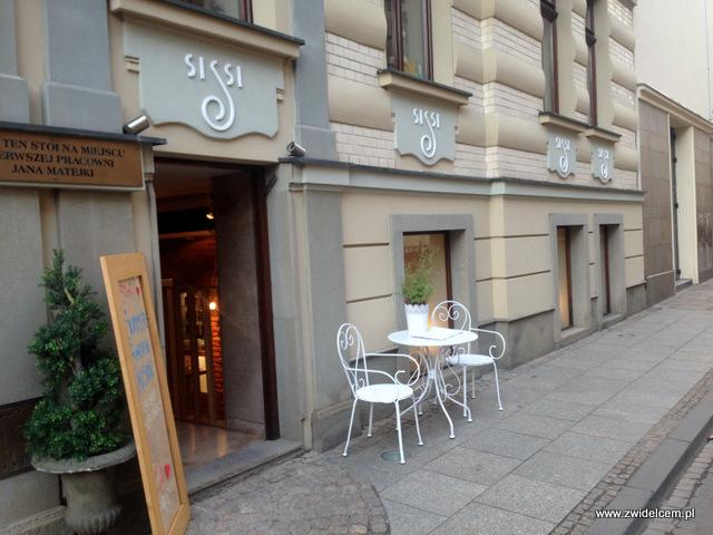 Kraków - Sissi Organic Bistro - wejście