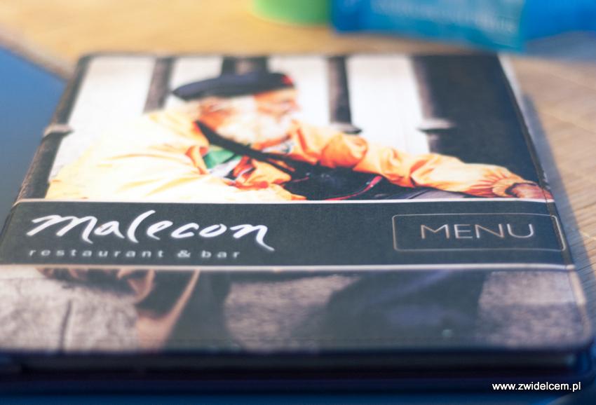 Kraków - Malecon - menu