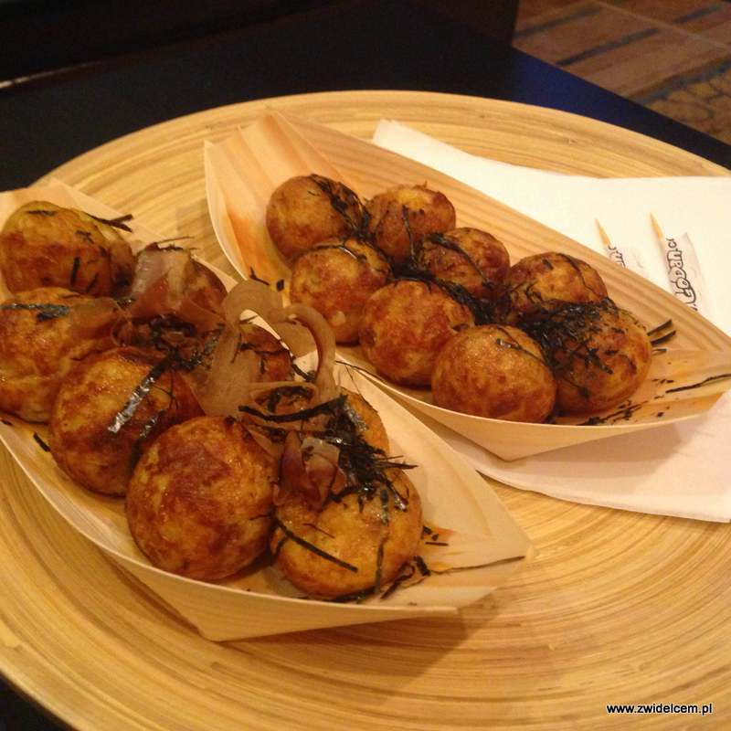 Kraków - Kyoto takoyaki - kulki z ośmiornicą
