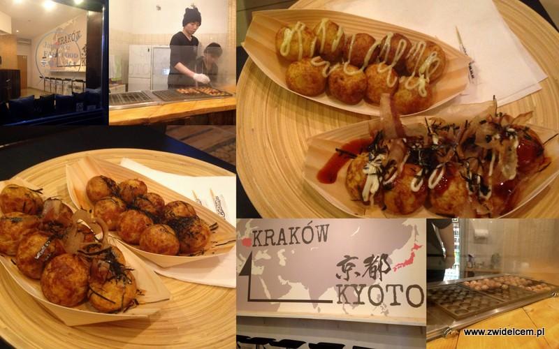 Kraków - Kyoto takoyaki - kulki z ośmiornicą - lokal