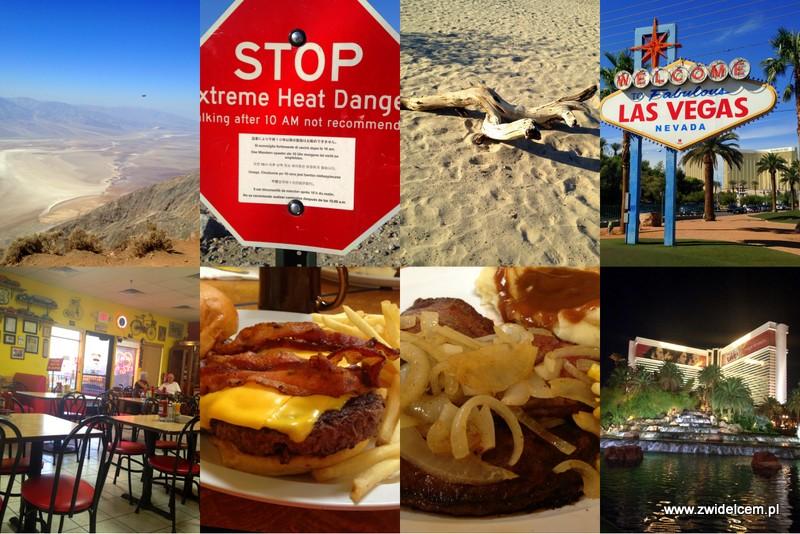 Stany Zjednoczone - USA - Death Valley - Pahrump - Las Vegas