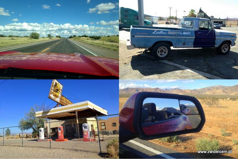 Stany Zjednoczone - USA - Ford Mustang - Ludlow - Bagdad Cafe