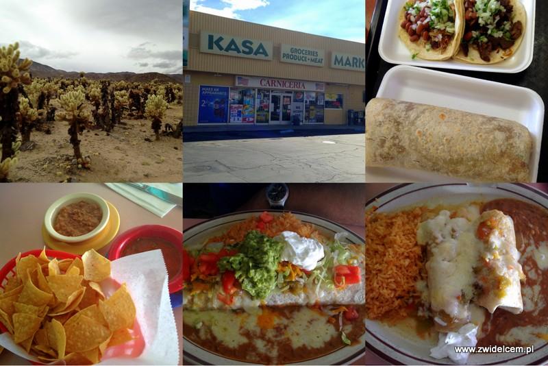 USA - Stany Zjednoczone - Kalifornia - Joshua Tree - tacos - burrito - Yucca Valley