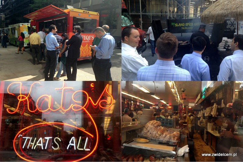 USA - Stany Zjednoczone - Nowy Jork - NYC - Katz's Delicatessen - food truck - Manhattan