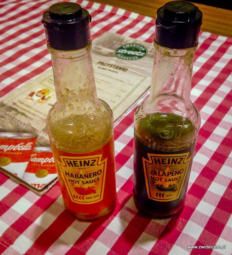 Kraków - American Streetz Barbecue - sosy Heinz - Habanero - Jalapeno