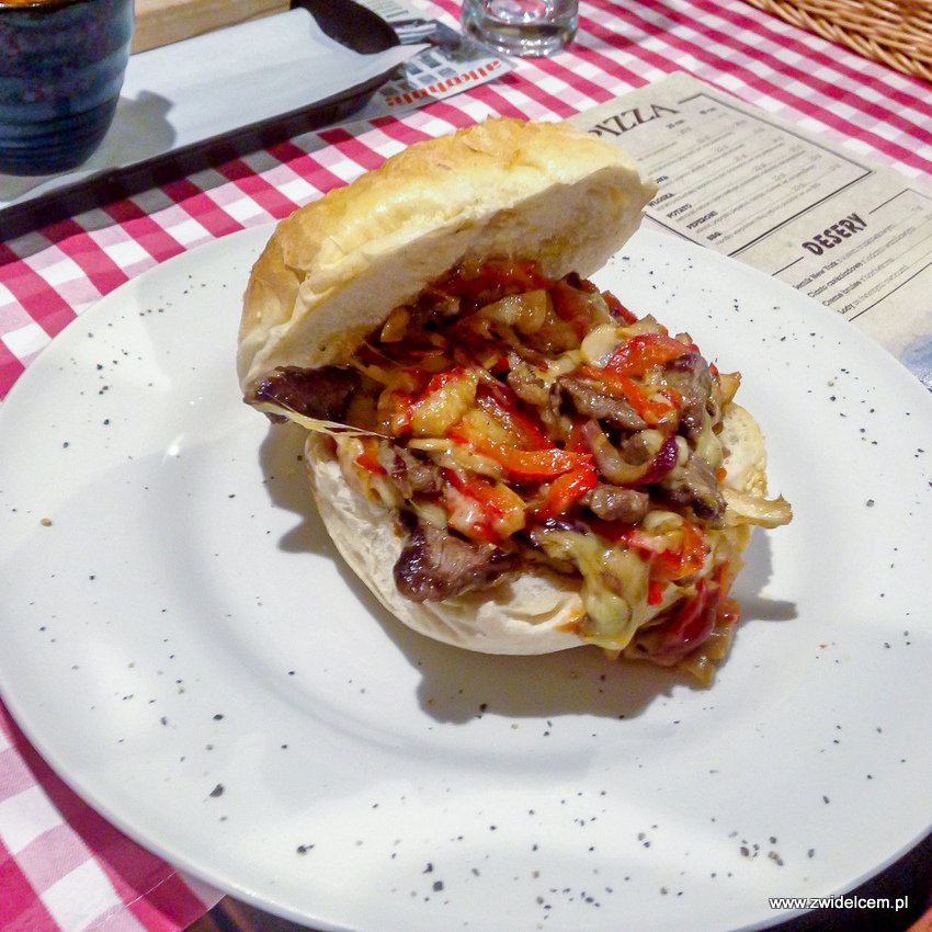 Kraków - American Streetz Barbecue - Philly CheeseSteak