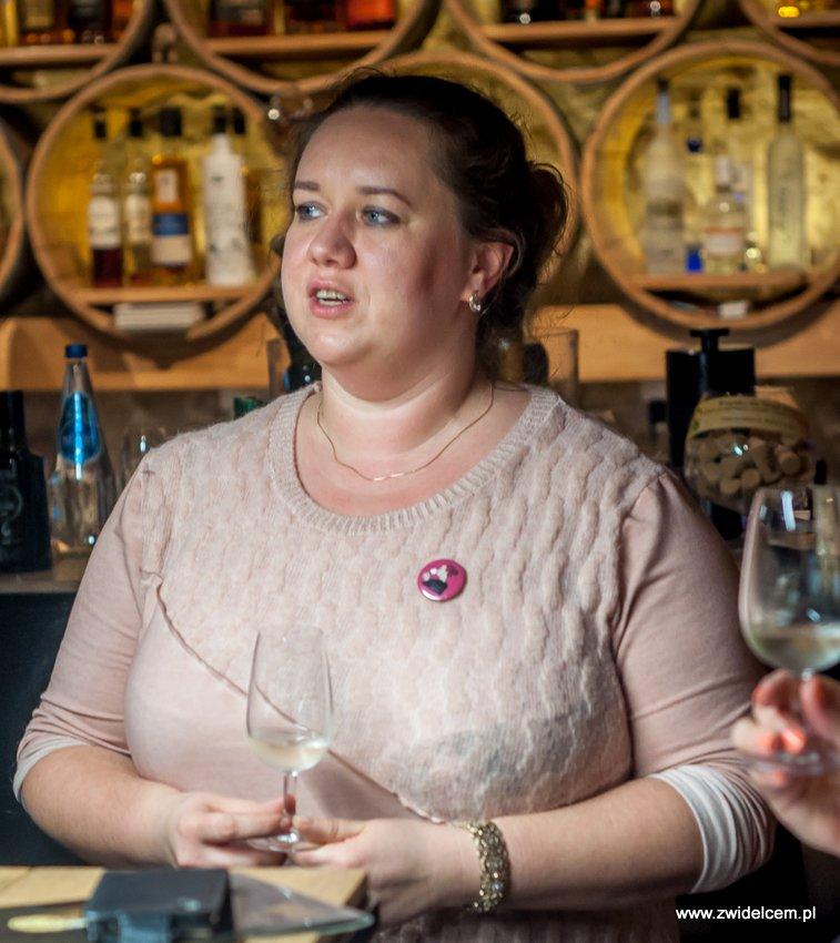 Kraków – Enoteka Pergamin – Kobiety i Wino – degustacja - Lesya Onyshko