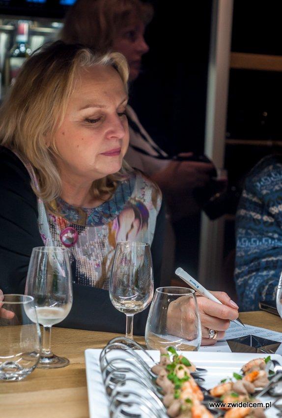 Kraków – Enoteka Pergamin – Kobiety i Wino – degustacja - notatki a Anią w tle