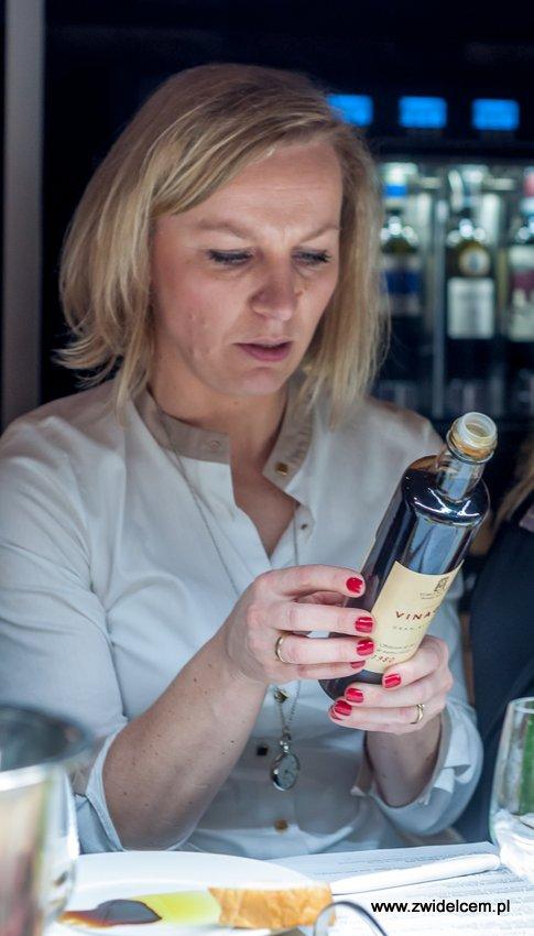 Kraków – Enoteka Pergamin – Kobiety i Wino – degustacja- Bożena Dragosz - Toro Albala Ocet winogronowy