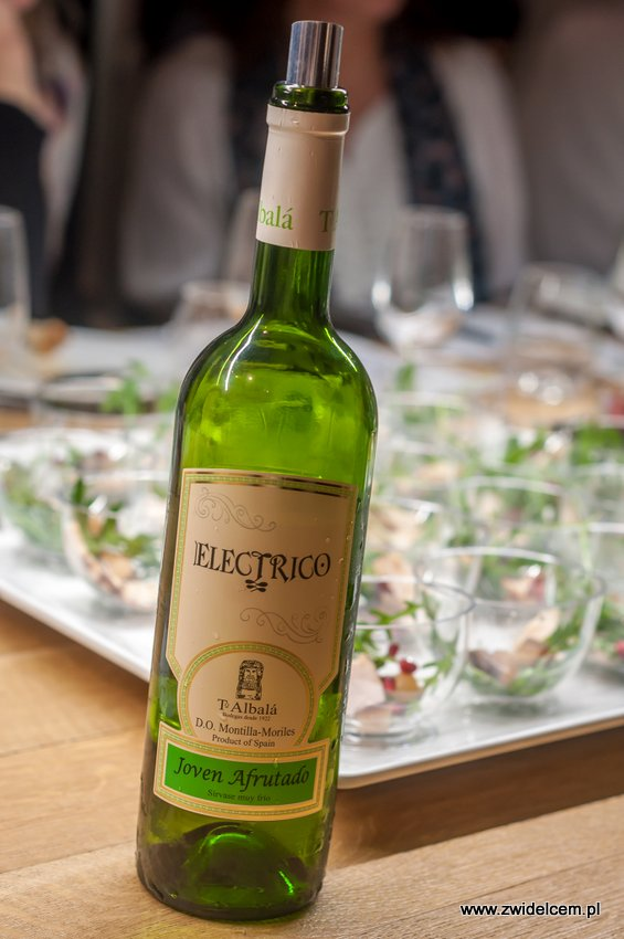 Kraków – Enoteka Pergamin – Kobiety i Wino – degustacja – Toro Albalá Electrico Joven Afrutado 2014