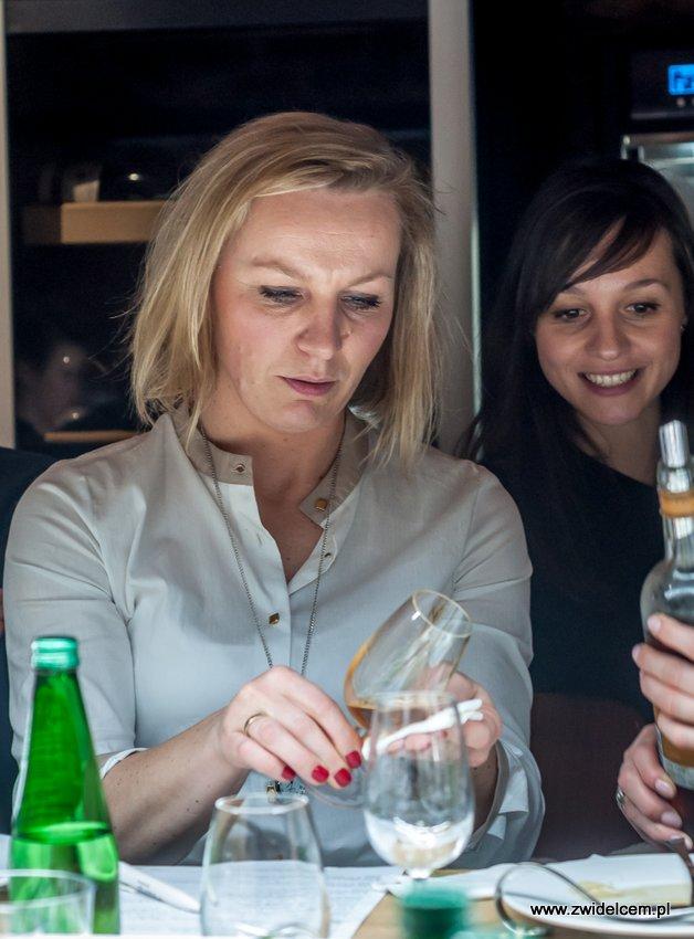 Kraków – Enoteka Pergamin – Kobiety i Wino – degustacja – Bożena Dragosz - Kasia Puk
