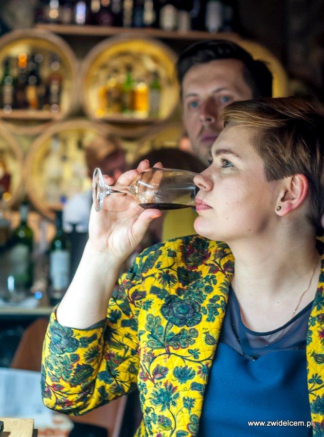 Kraków – Enoteka Pergamin – Kobiety i Wino – degustacja – Paulina Bandura