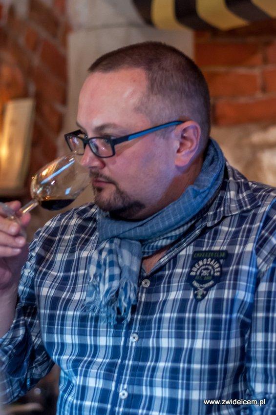 Kraków – Enoteka Pergamin – Kobiety i Wino – degustacja – Mariusz Kapczyński
