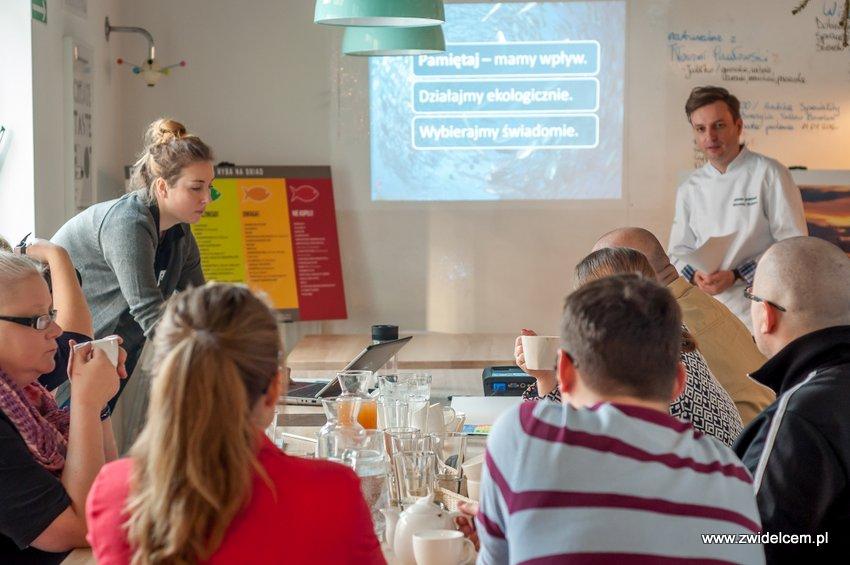 Kraków - Studio Twój Kucharz - Kampania na rzecz ochrony różnorodności biologicznej mórz i oceanów - warsztaty dla blogerów