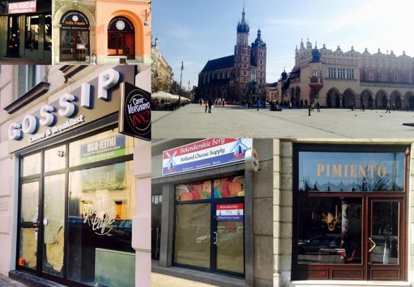 Kraków - Pimiento - India masala - Gossip Coffe - Holenderskie sery