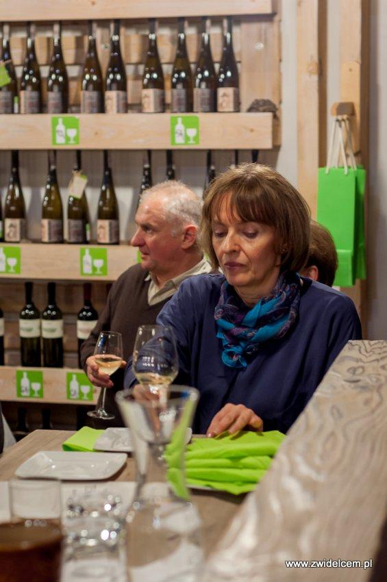 Kraków - degustacja win z Toledo - Terra Felix - Lipowa 6F - Krako Slow Wines - goście i wino