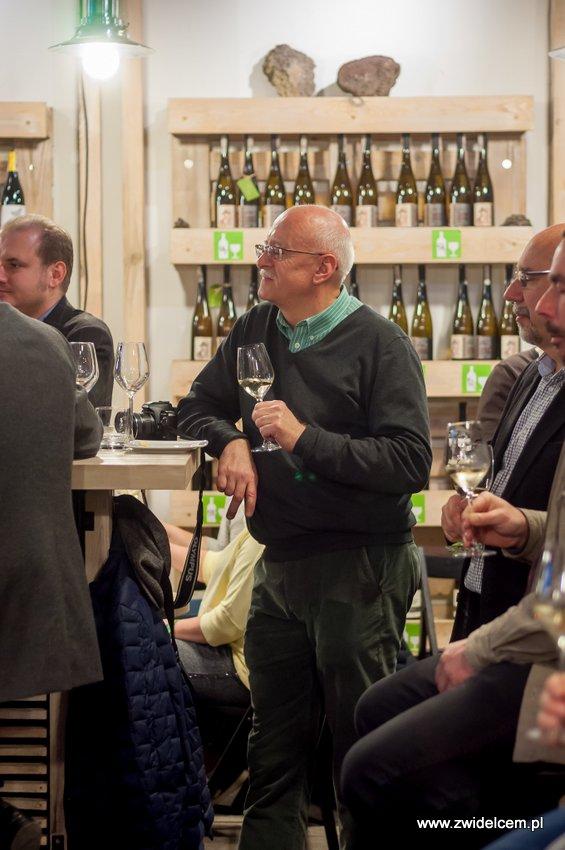 Kraków - degustacja win z Toledo - Terra Felix - Lipowa 6F - Krako Slow Wines - opowieści o białym winie