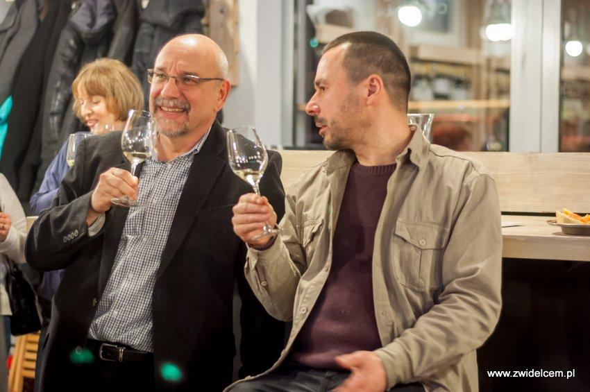 Kraków - degustacja win z Toledo - Terra Felix - Lipowa 6F - Krako Slow Wines - rozmowy przy winie