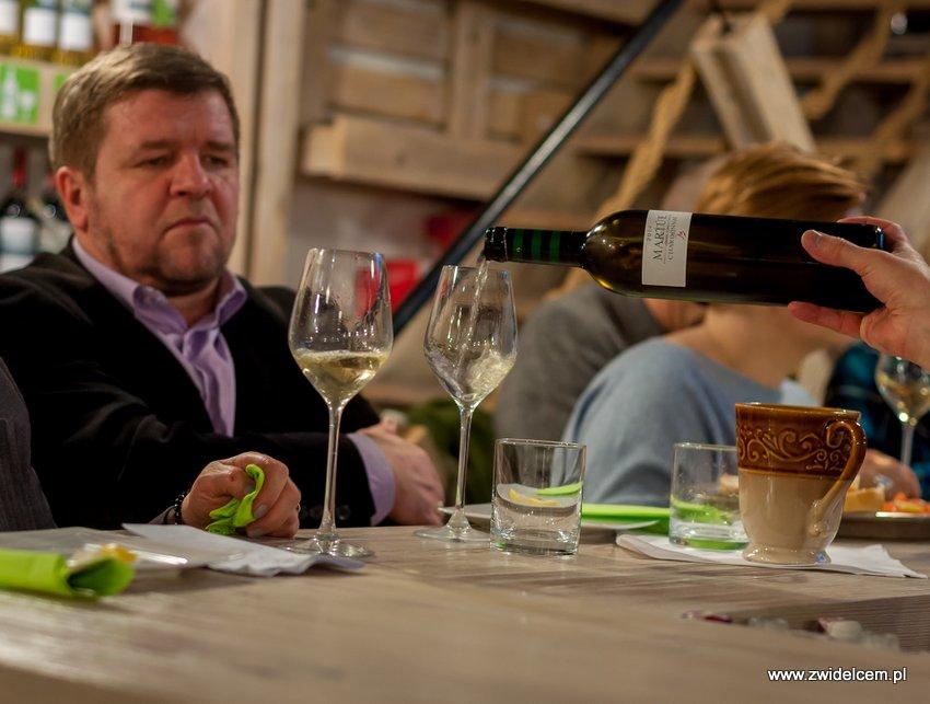 Kraków - degustacja win z Toledo - Terra Felix - Lipowa 6F - Krako Slow Wines -wino białe