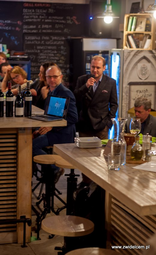 Kraków - degustacja win z Toledo - Terra Felix - Lipowa 6F - Krako Slow Wines - przedstawicel importera