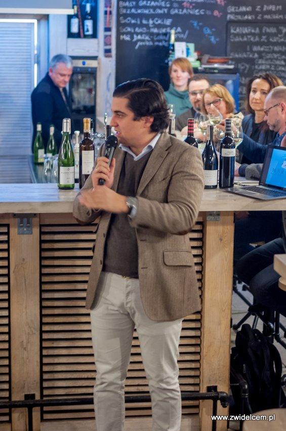 Kraków - degustacja win z Toledo - Terra Felix - Lipowa 6F - Krako Slow Wines - Manuel González