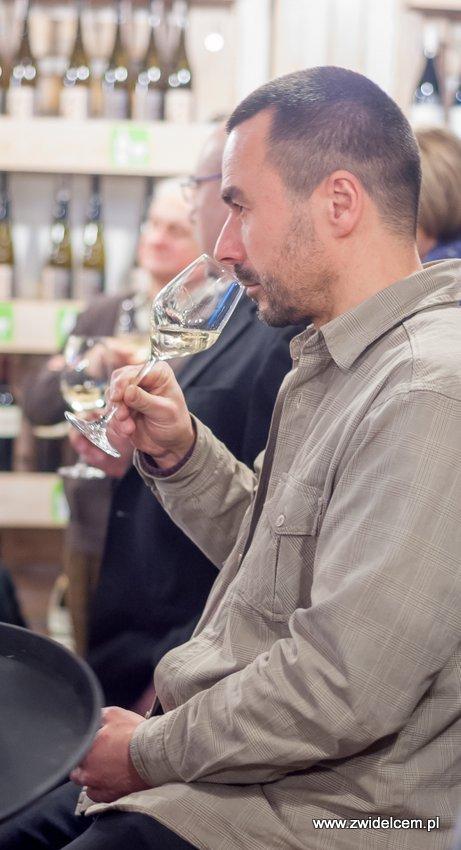 Kraków - degustacja win z Toledo - Terra Felix - Lipowa 6F - Krako Slow Wines -degustacja wina białego