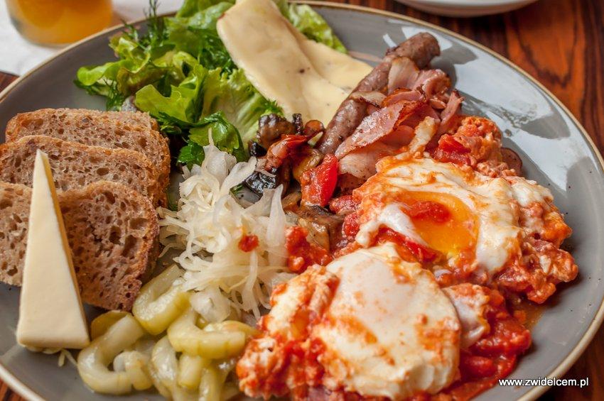 Kraków - Zenit - śniadanie drwala