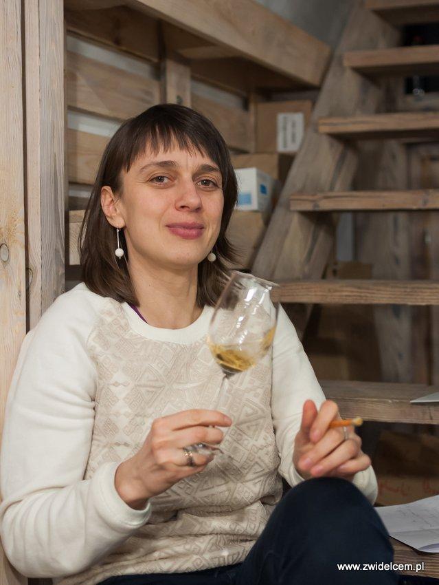 Krakó Slow Wines - Lipowa 6f - Degustacja win włoskich - nos - Renata Rusnak