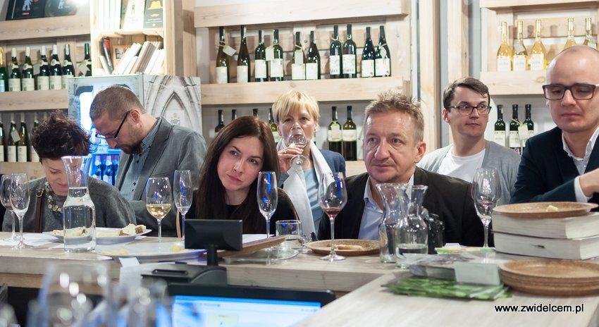 Krakó Slow Wines - Lipowa 6f - Degustacja win włoskich - przy barze