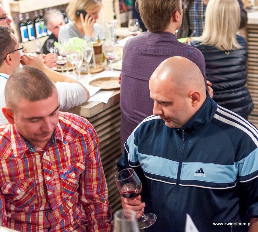 Krakó Slow Wines - Lipowa 6f - Degustacja win włoskich - kucharze