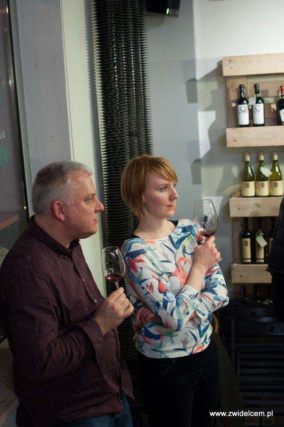 Krakó Slow Wines - Lipowa 6f - Degustacja win włoskich - Paweł Wożniak, Joanna Zięba-Tenderowicz