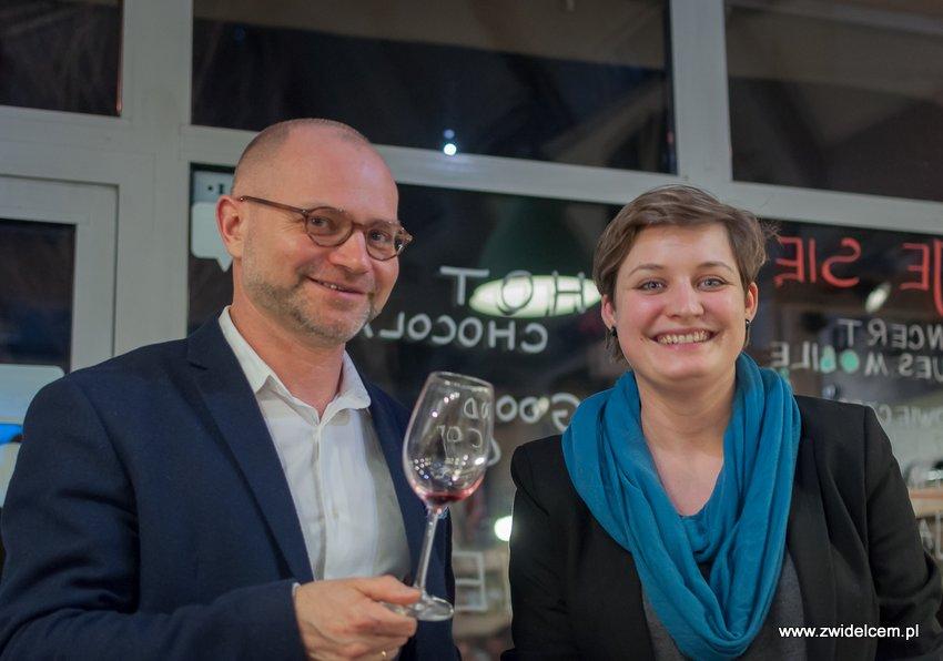 Krakó Slow Wines - Lipowa 6f - Degustacja win włoskich - Aga Balicka, Grzegorz Owca