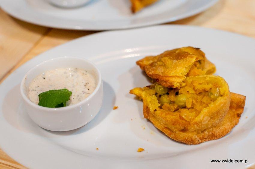 Kraków - Hurry Curry - Samosa wegetariańska