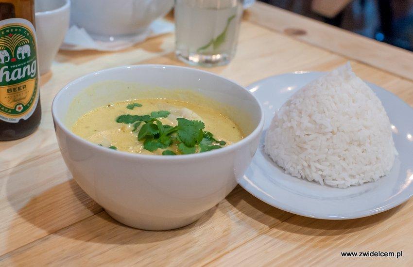 Kraków - Hurry Curry - ZÓlte curry ze Sri Lanki