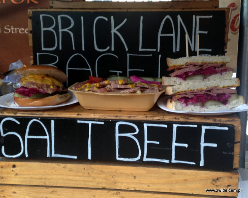 Londyn - Borough Market- salt beef
