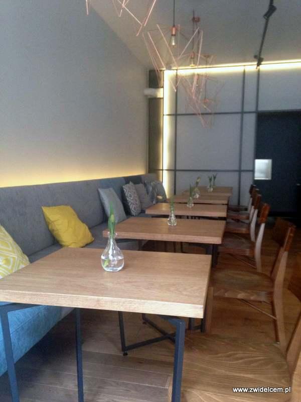 Kraków - Moj-ja cafe - wnętrze