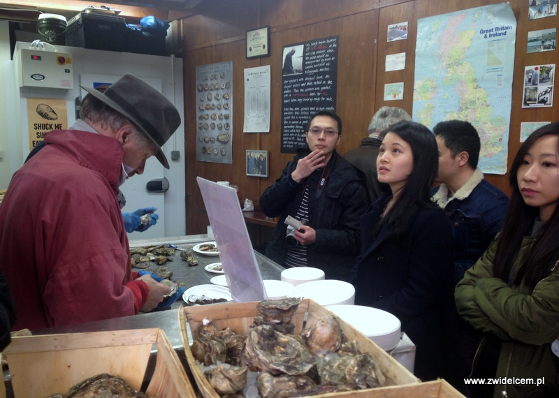 Londyn - Borough Market - Richard Haward's Oysters
