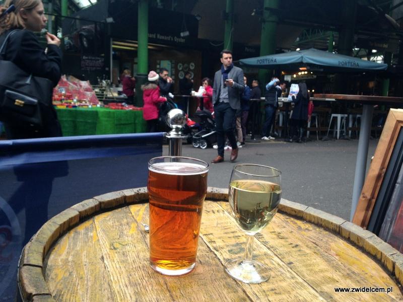 Londyn - Borough Market- relaks w pubie