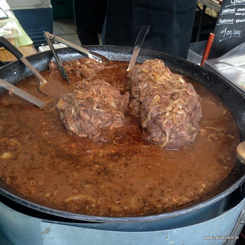 Londyn - Pimlico Market - wołowina