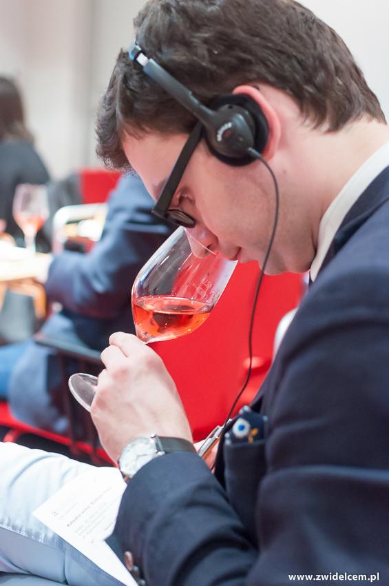 rozKraków - Instytut Cervantesa - Architektura i wino III: Bodega Otazu, Katedra wina - wino różowe - Radosław Froń